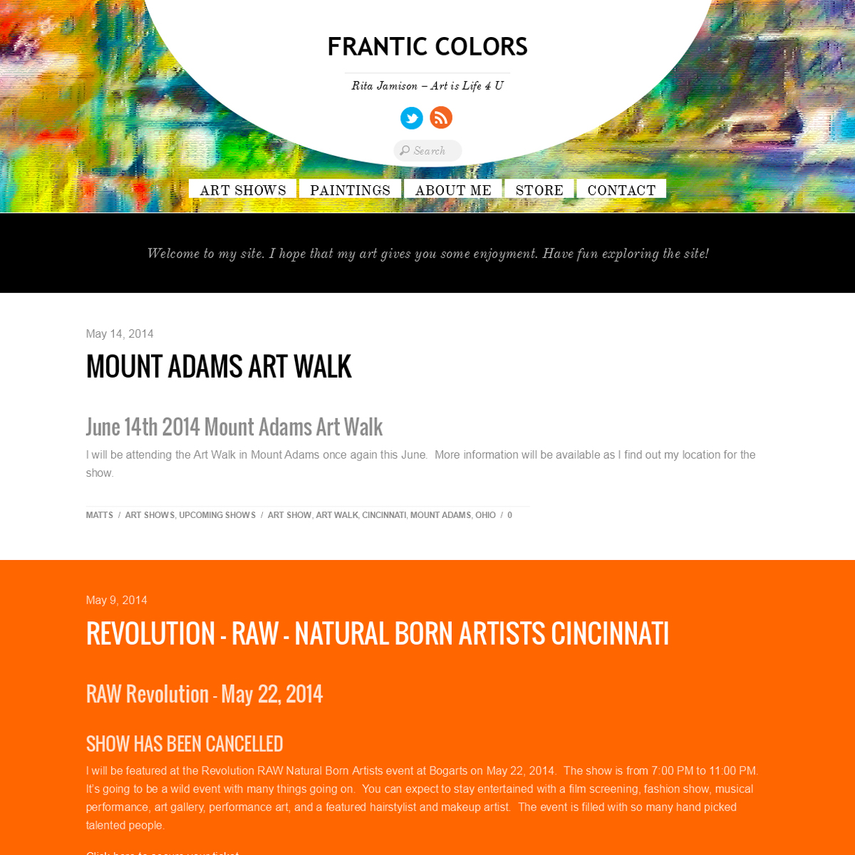 cincinnati web design first fortune marketing portfolio example 1